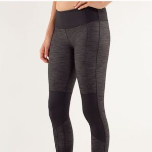 Lululemon Equanimity Pant grey+black